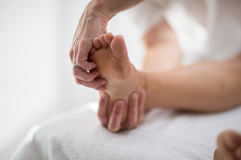Pavilion Osteopathy - Foot examination