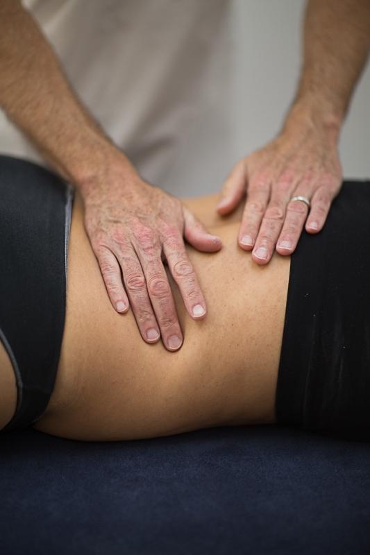 Pavilion Osteopathy - Lumbar spine soft tissue technique