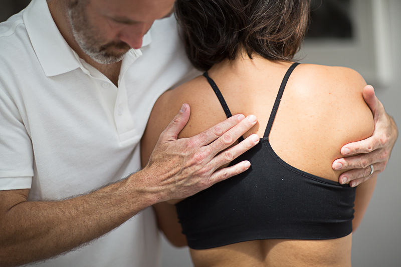 Pavilion Osteopathy - Thoracic spine assessment