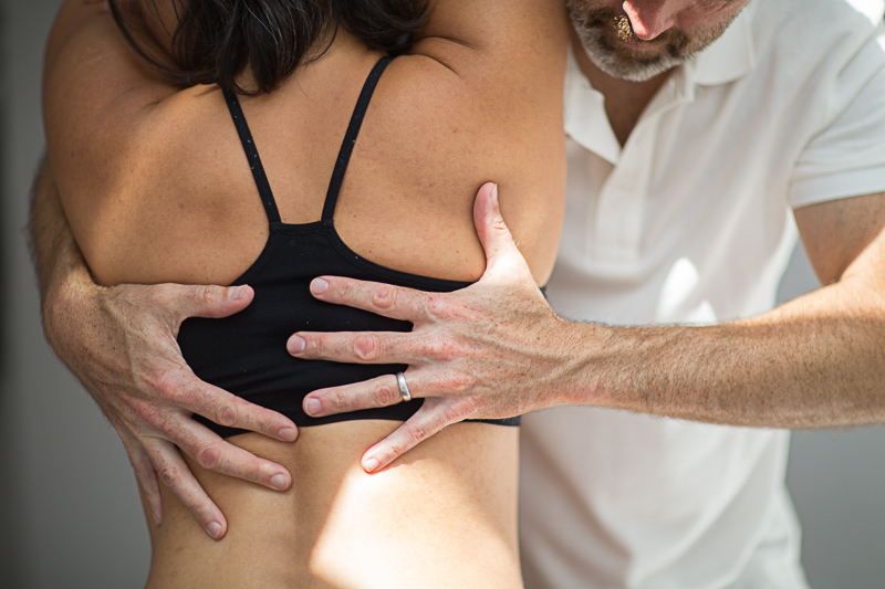 Pavilion Osteopathy - Thoracic spine extension