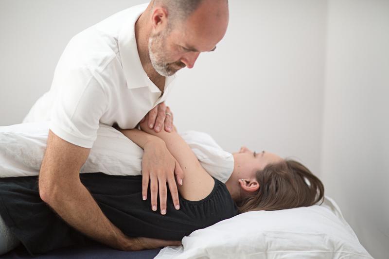 Pavilion Osteopathy - Thoracic spine manipulation