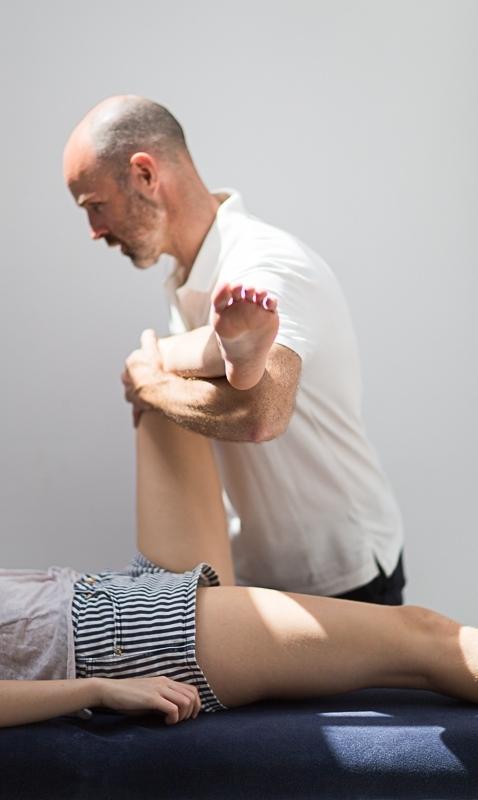 Pavilion Osteopathy - Hip examination