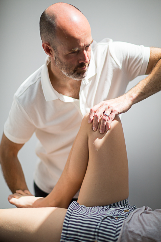 Pavilion Osteopathy - Knee joint articulation