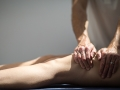 Pavilion Osteopathy - Soft tissue technique to quadriceps