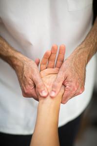 Pavilion Osteopathy, Brighton - Wrist examination