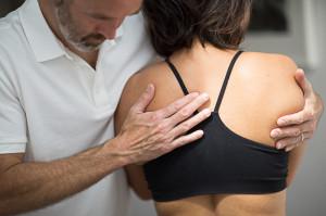 Pavilion Osteopathy, Brighton - Thoracic spine examination