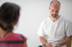 Pavilion Osteopathy, Brighton - Patient consultation
